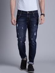 Kook N Keech Marvel Blue Washed Tapered Fit Jeans