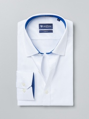 INVICTUS White Slim Fit Formal Shirt
