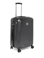 DELSEY Unisex Black Helium Air Medium Trolley Suitcase