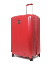 DELSEY Unisex Red Helium Air Large Trolley Suitcase