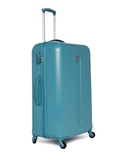 DELSEY Unisex Green Helium Classic Large Trolley Suitcase