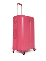 DELSEY Unisex Pink Helium Classic Large Trolley Suitcase