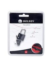DELSEY Black Key Padlock