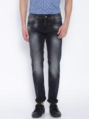 Killer Black Low-Rise Slim Jeans