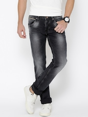 Killer Black Low-Rise Slim Jeans