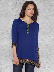 IMARA by Shraddha Kapoor Blue Kurti