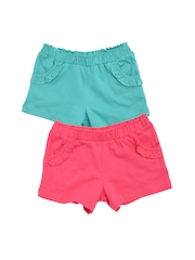 mothercare Girls Pack of 2 Shorts