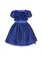 Toy Balloon kids Girls Blue Fit & Flare Dress