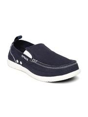 Crocs Men Navy Walu Loafers