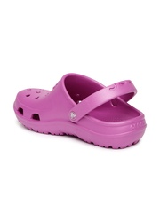 Crocs Kids Lavender Hilo Cut-Work Clogs