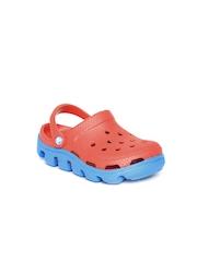 Crocs Kids Red Duet Sport Clogs
