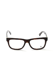 Tods Unisex Brown Printed Square Frames TO5117 052