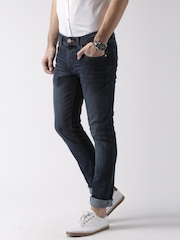 Mast & Harbour Blue Skinny Fit Jeans