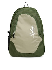 Skybags Unisex Olive Green Backpack