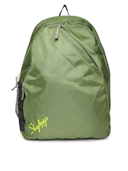 Skybags Unisex Olive Green Brat Backpack