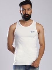 Superdry White Sleeveless T-shirt