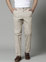 Marks & Spencer Beige Lightweight Chino Trousers