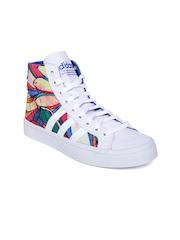 Adidas Originals Women Multicoloured Courtvantage Printed Casual Shoes