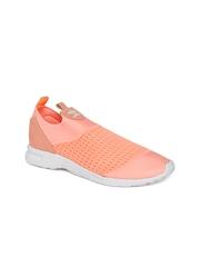Adidas Originals Women Peach-Coloured ZX FLUX ADV Smooth Slip-Ons