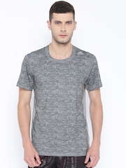 Adidas Grey TF Base Fitted T-shirt