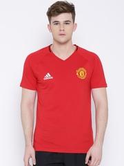 Adidas Red Manchester United Football Club T-shirt