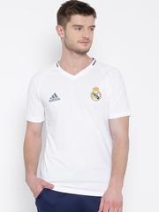 Adidas White Real Madrid Football T-shirt