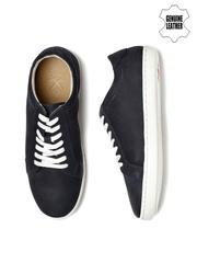 WROGN Men Navy Suede Sneakers