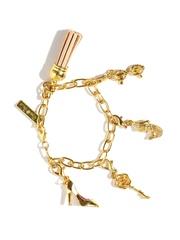 Pipa Bella 18K Gold-Plated Charms Bracelet