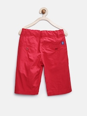 612 League Boys Red Shorts