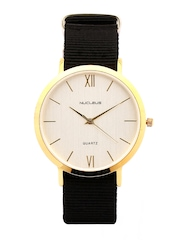 Nucleus Unisex White Dial Watch GSB