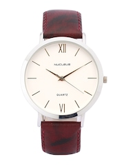 Nucleus Unisex White Dial Watch LSWM