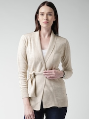 Mast & Harbour Beige Shrug