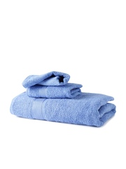 Turkish Bath Blue High Grade Cotton Set of 3 Towels