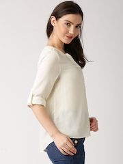DressBerry Cream-Coloured Top