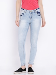 SF JEANS by Pantaloons Blue Sassy Skinny Jeans