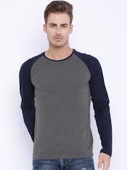 Highlander Grey & Navy T-shirt