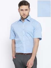 John Players Blue Formal Shirt