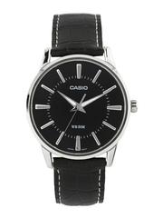 Casio ENTICER Classic Men Black Dial Watch A496 MTP-1303L-1AVDF