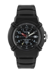 Casio Youth Men Black Dial Watch A508