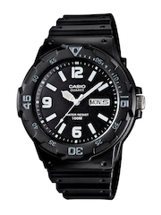 Casio Youth Analog Men Black Analogue Watches (A594) MRW-200H-1B2VDF