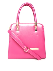 Lisa Haydon for Lino Perros Pink Handbag with Sling Strap