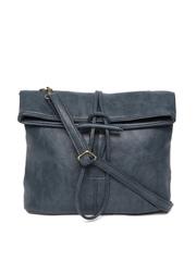 Lisa Haydon for Lino Perros Navy Textured Sling Bag