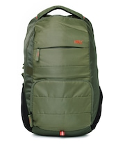 HRX by Hrithik Roshan Unisex Olive Green Backpack