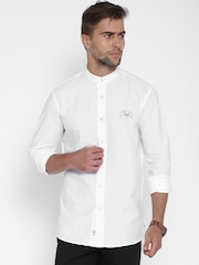 Solly Sport White Wimbledon Custom Sport Fit Casual Shirt