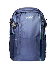 HRX by Hrithik Roshan Men Navy Laptop Backpack