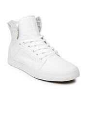 Supra Men White Skytop Sneakers