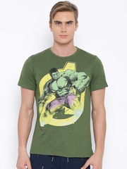 Marvel Green Hulk Print T-shirt