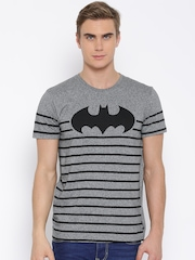 DC Comics Grey Printed T-shirt