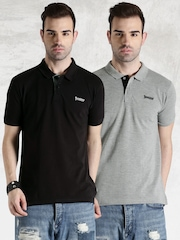 Roadster Pack of 2 Polo T-shirts