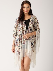 All About You from Deepika Padukone Beige Printed Shrug